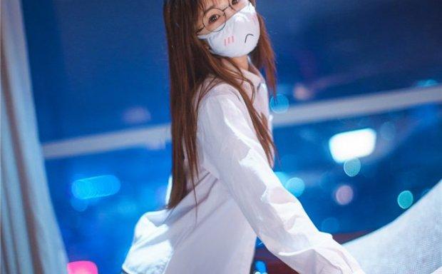 御子Yumiko-衬衫口罩御子和她的白色死库水浴室[38P/218M]