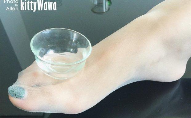 袜小喵KittyWawa-KT001《玩物:茶杯》[57P]