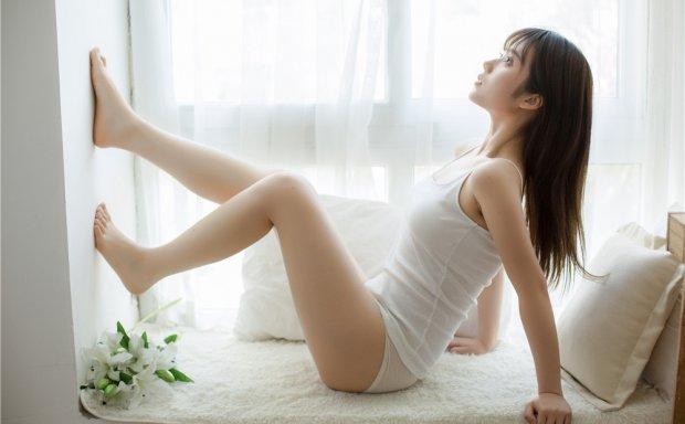 喵糖映画 VOL.003 氧气少女夏日吊带小清新日系写真[86P-277M]