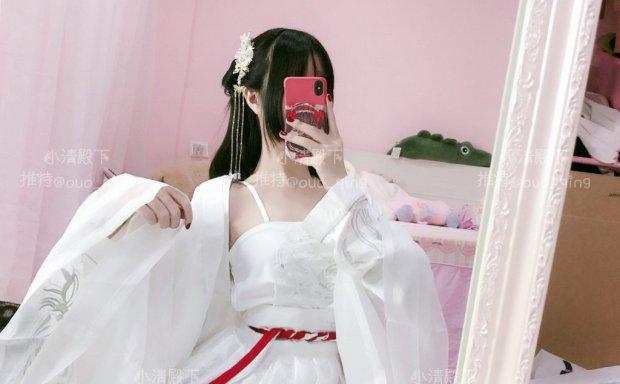 小清殿下-白汉服自拍写真