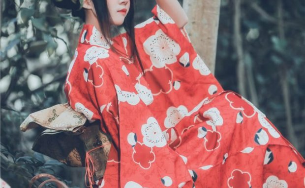 桜桃喵 NO.026 夏日祭 可爱浴衣和服[67P-843M]