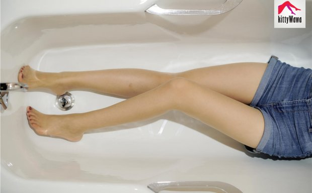 袜小喵KittyWawa-KT009《凳子、马桶、浴缸》[99P]