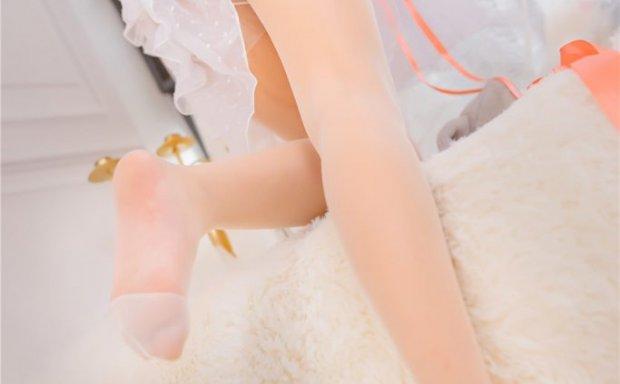 喵糖映画 VOL.028 lovely呆玄 透明薄纱 半透白丝猫耳少女[40P-386M]