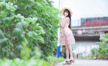 [桜桃喵]写真集-《樱·小少女》清新×4册
