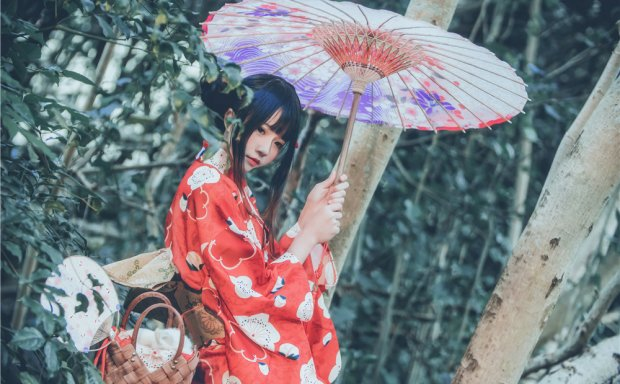 桜桃喵-夏日祭 和服[67P-843M]