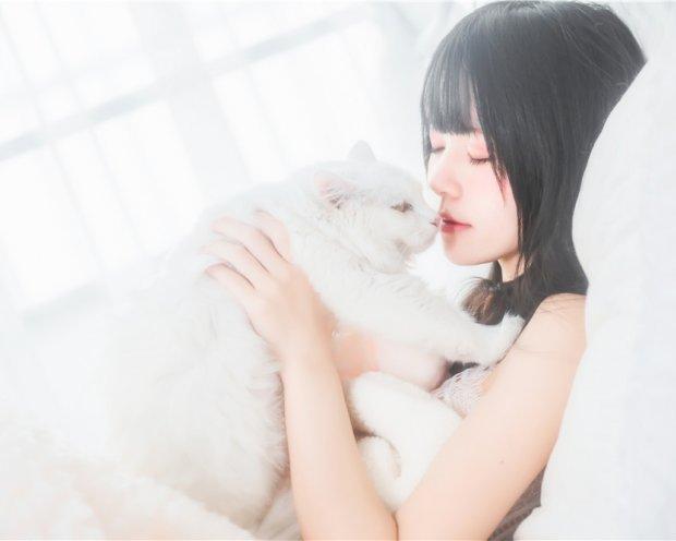 桜桃喵-冬眠系列 纯白私房+粉红浴缸[103P-1.07G]