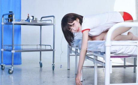 Shika小鹿鹿-保健室体操服少女[12P-124M]