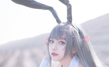 Shika小鹿鹿-麻衣学姐 兔女郎[18P-205M]