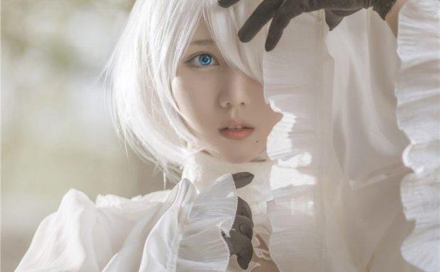 镜酱-2B白色婚纱[13P-168M]