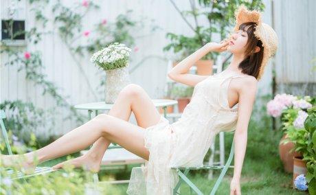 木绵绵OwO-湿润微风夏日连衣裙[75P-640M]