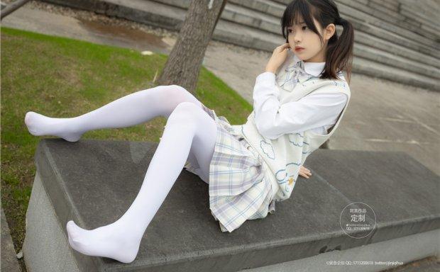 [紧急企划]G-003 小奶糕Milky 白裤袜[70P-858M]