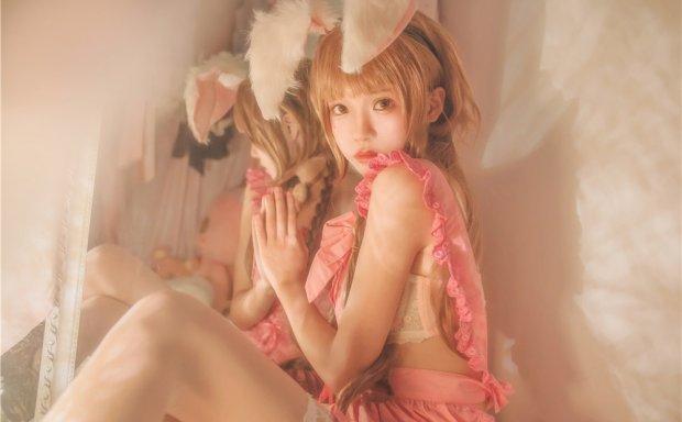 桜桃喵-朦胧兔耳娘[49P-492M]