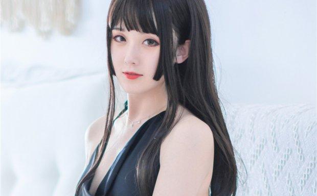 Akisoso秋楚楚-黑裙正片[17P-281M]